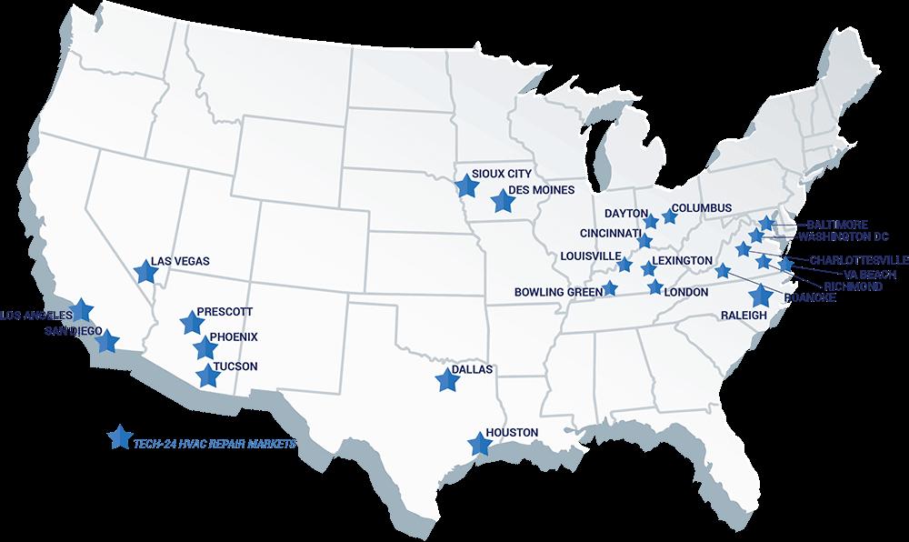Commercial HVAC Repair Markets